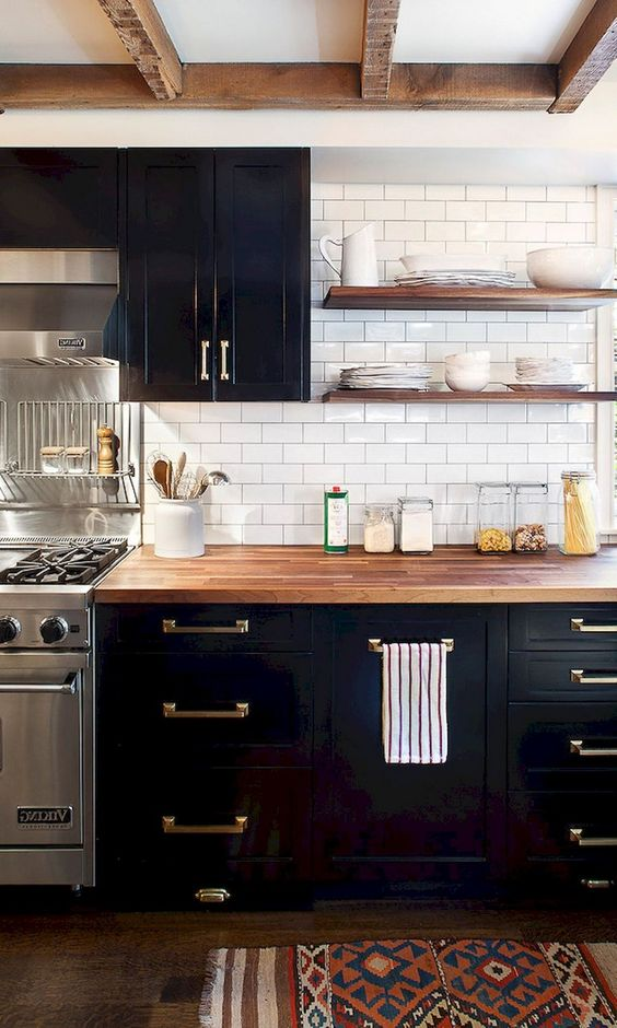 black kitchen ideas 20