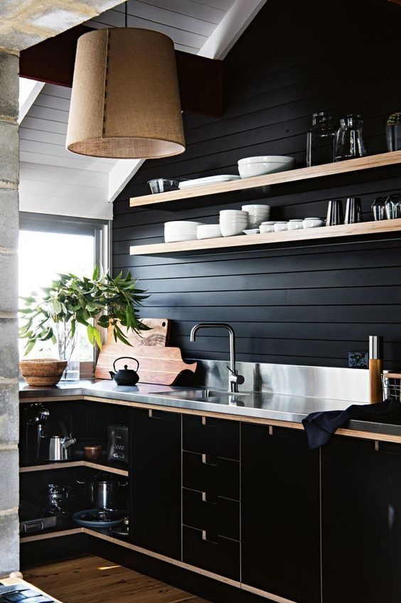 black kitchen ideas 23
