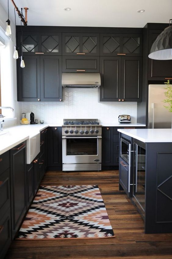 black kitchen ideas 25