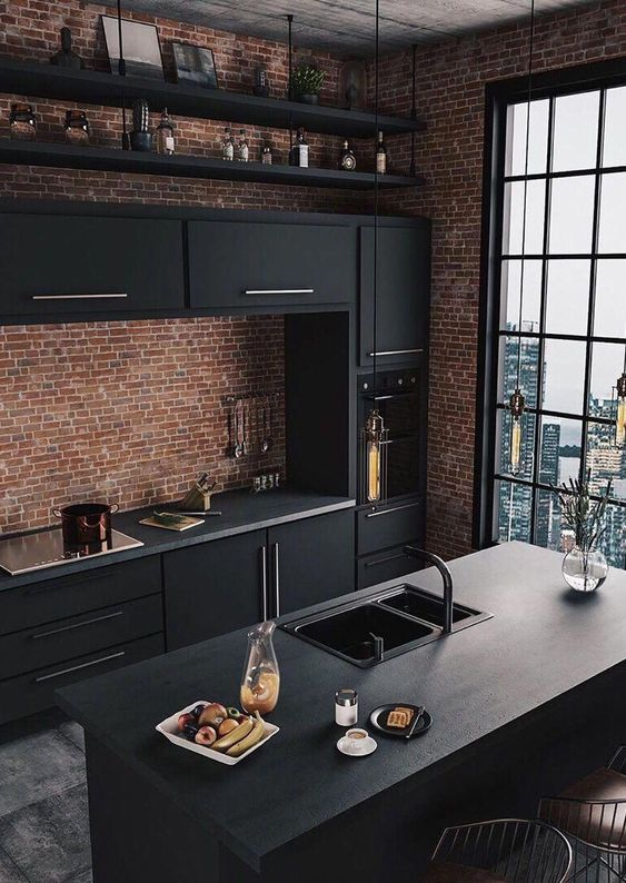Black Kitchen Ideas: Jaw-dropping Matte Black