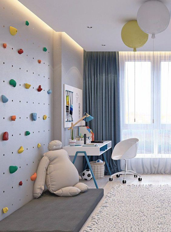 Boys Bedroom Ideas: Fun and Challenging Design
