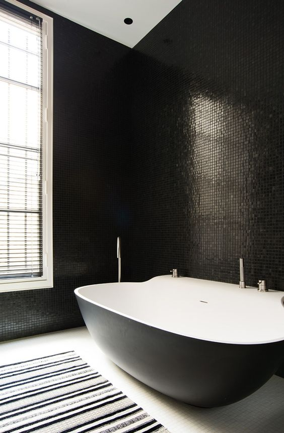 dark bathroom ideas 10