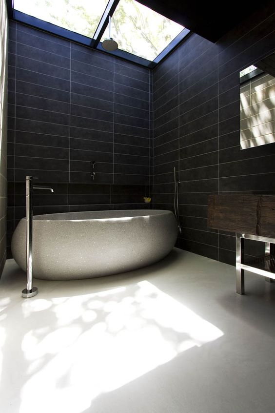 dark bathroom ideas 12