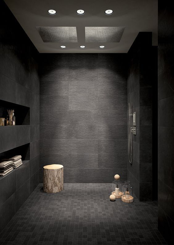 dark bathroom ideas 13