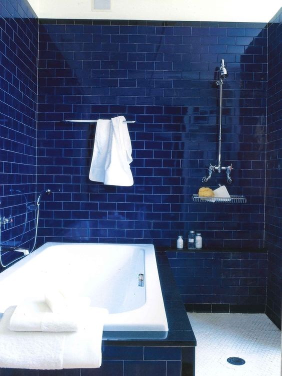 dark bathroom ideas 16