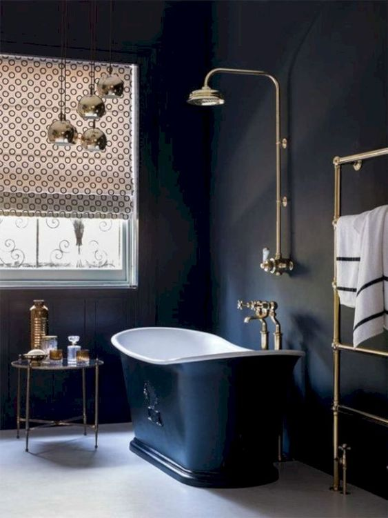 dark bathroom ideas 19