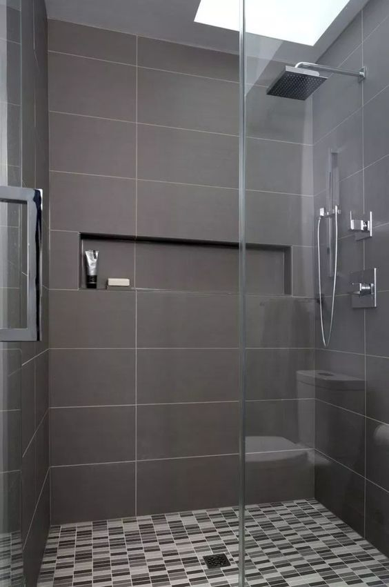 Dark Bathroom Ideas: Stay In The Middle