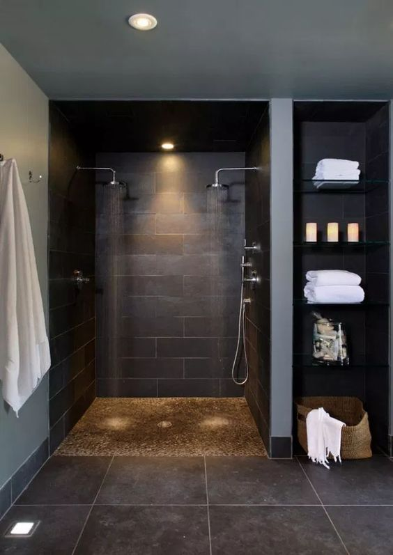 dark bathroom ideas 20