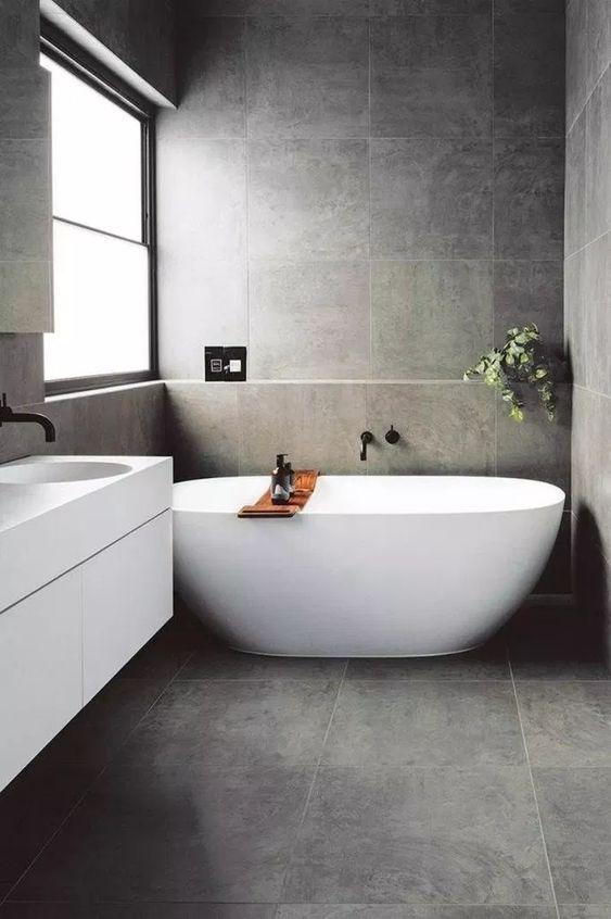dark bathroom ideas 24
