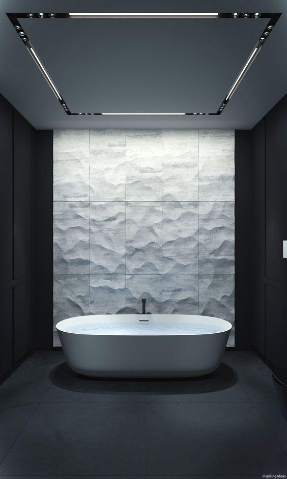 Dark Bathroom Ideas: Keep It Minimalist