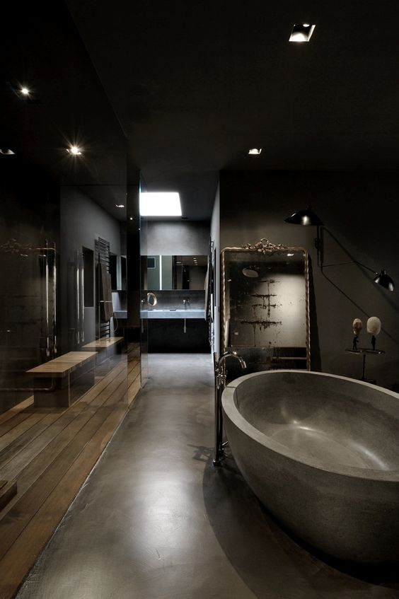 Dark Bathroom Ideas: Luxuriously Dark