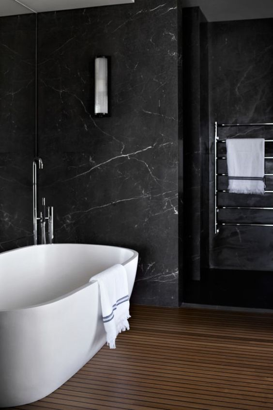 Dark Bathroom Ideas: Mix and Match It!