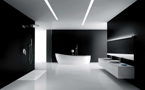 dark bathroom ideas feature