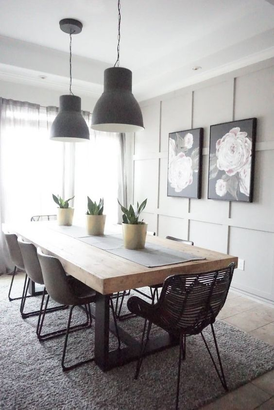 Dining Room Inspiration Ideas: Simple Is The Best