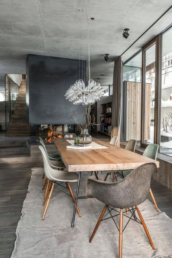 Dining Room Inspiration Ideas: Modern and Chic