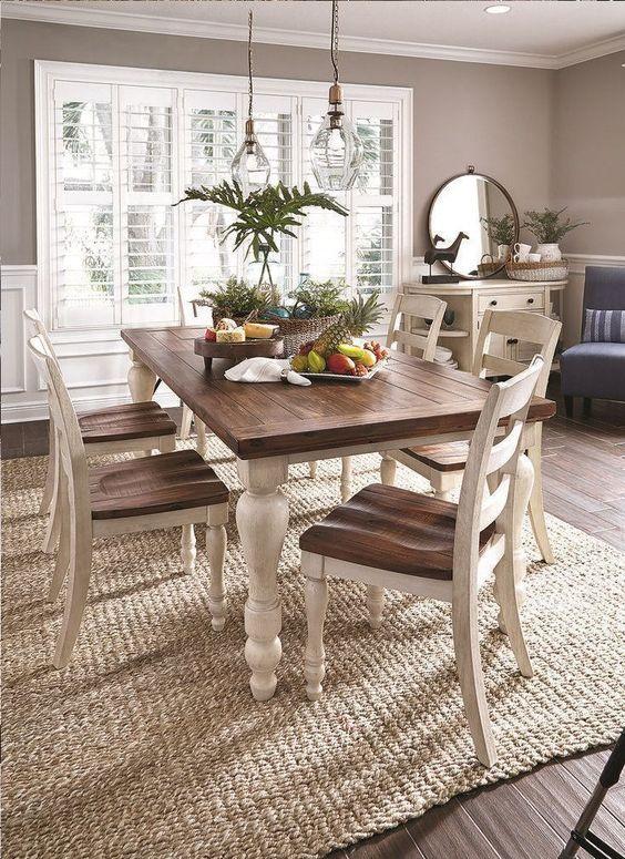 Farmhouse Dining Room Ideas: Elegant Looking