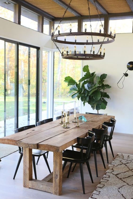 Farmhouse Dining Room Ideas: Mix With Luxury