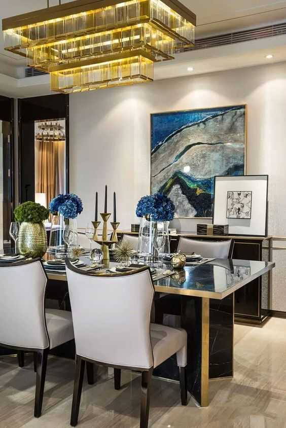 Glam Dining Room Ideas: Make A Different Point