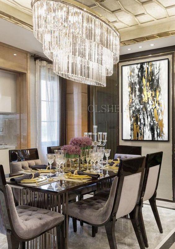 glam dining room ideas 11