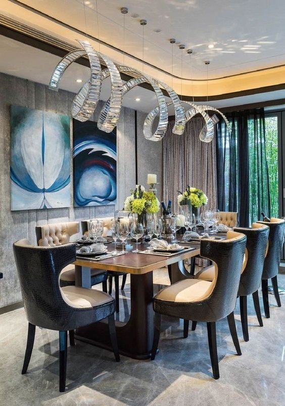 glam dining room ideas 12