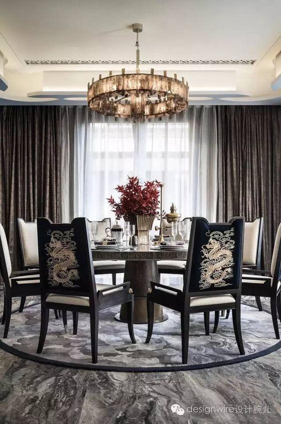 glam dining room ideas 13