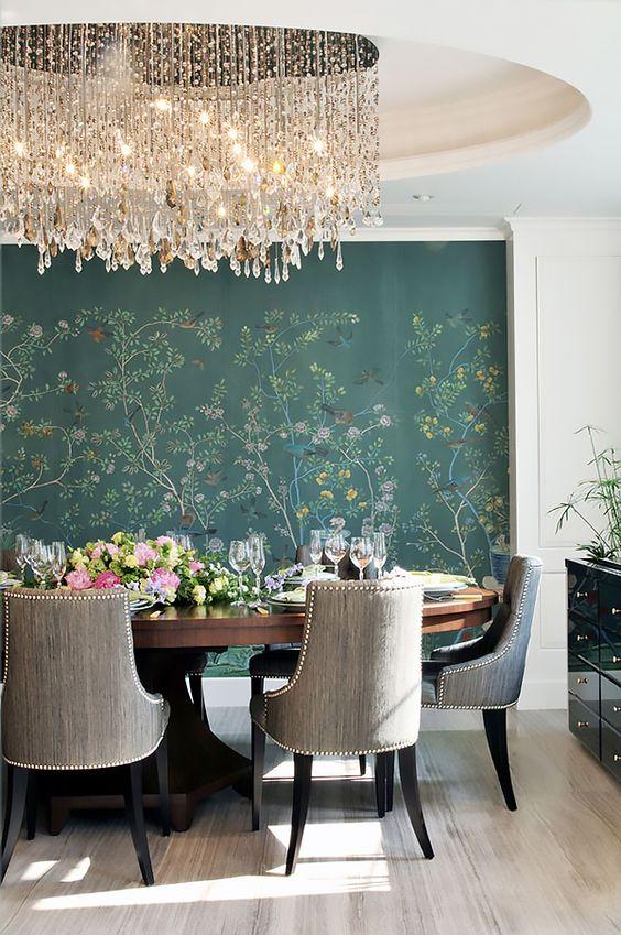 glam dining room ideas 14