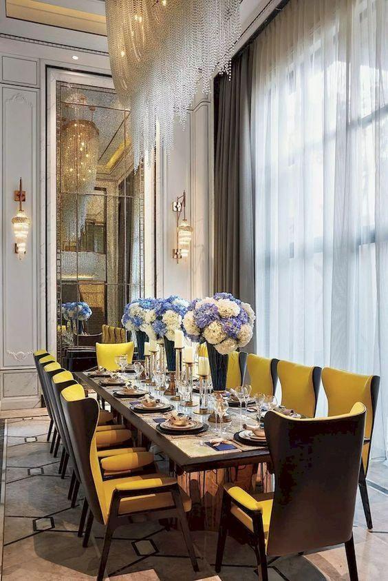 glam dining room ideas 16