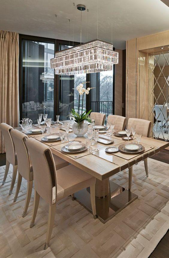 glam dining room ideas 17