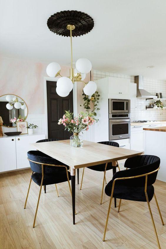 glam dining room ideas 18