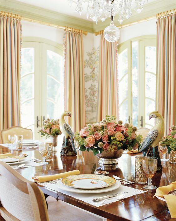 glam dining room ideas 20