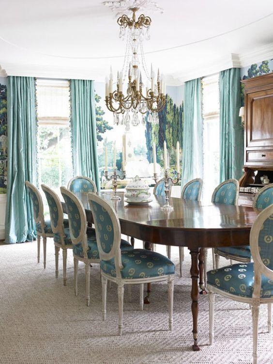 glam dining room ideas 23