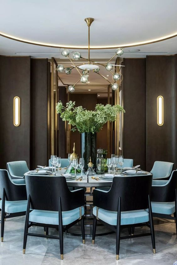 glam dining room ideas 4