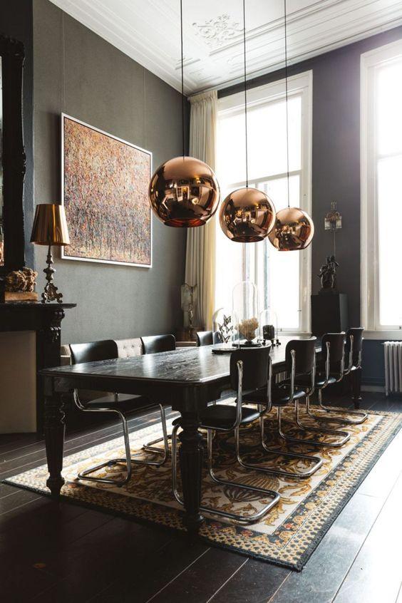 glam dining room ideas 5