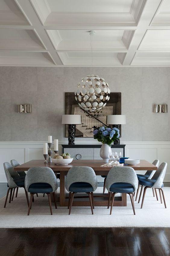 glam dining room ideas 6