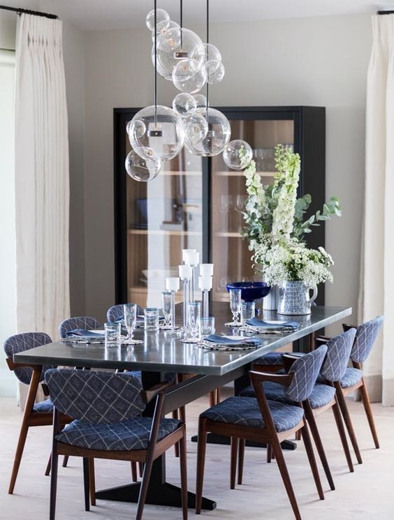 glam dining room ideas 7