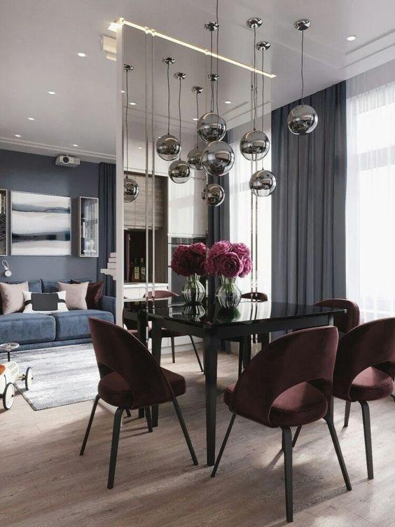 glam dining room ideas 8