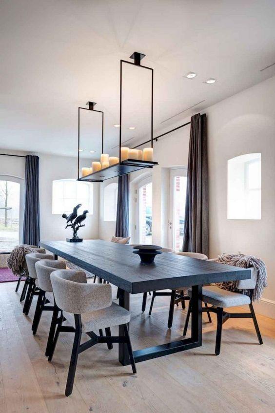 glam dining room ideas 9