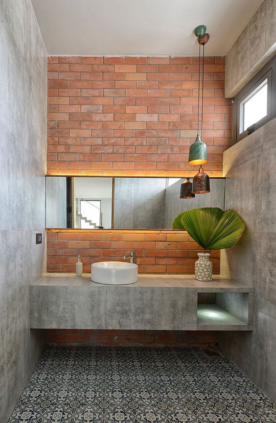 industrial bathroom ideas 10