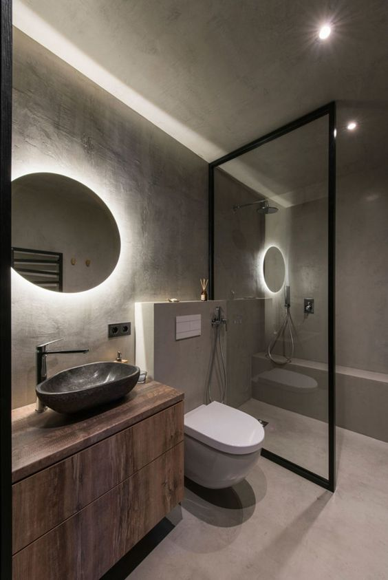 industrial bathroom ideas 11
