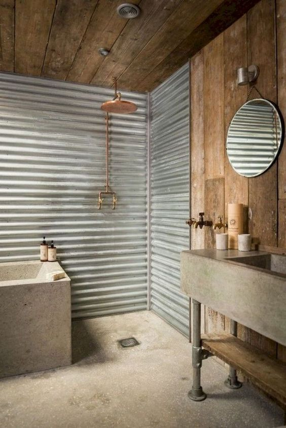 industrial bathroom ideas 13