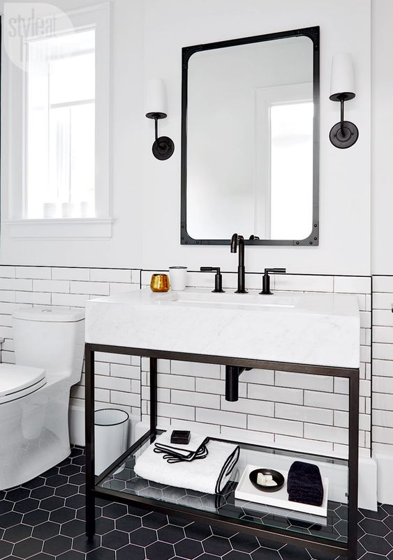 industrial bathroom ideas 15