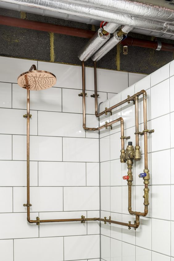 industrial bathroom ideas 19
