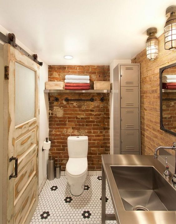 industrial bathroom ideas 21