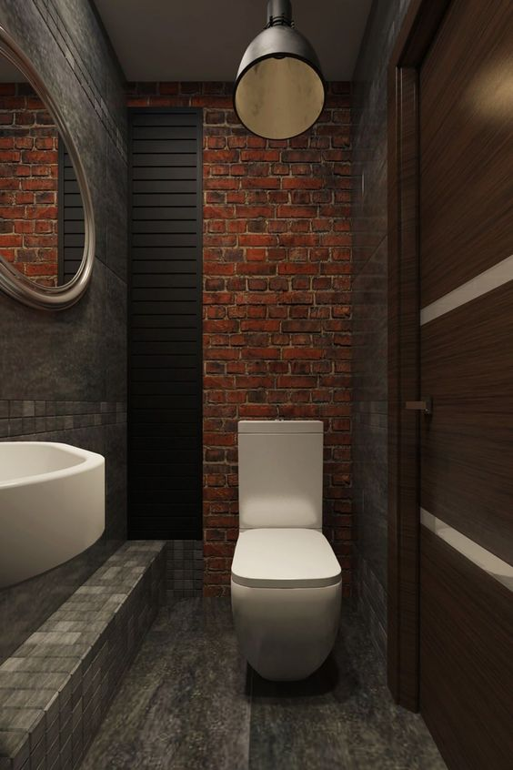 industrial bathroom ideas 22