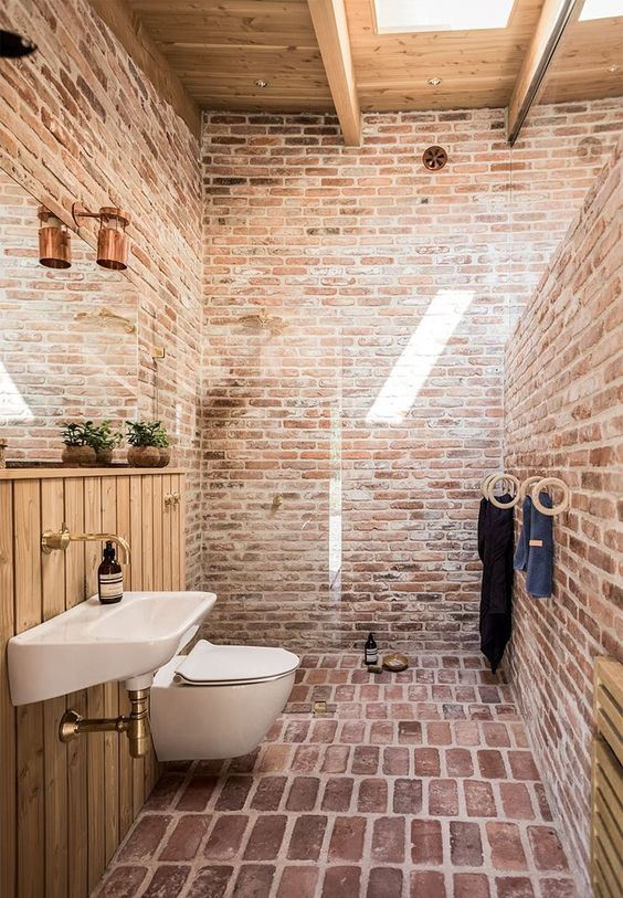 industrial bathroom ideas 23