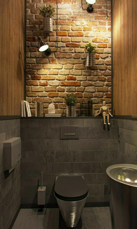 industrial bathroom ideas 25