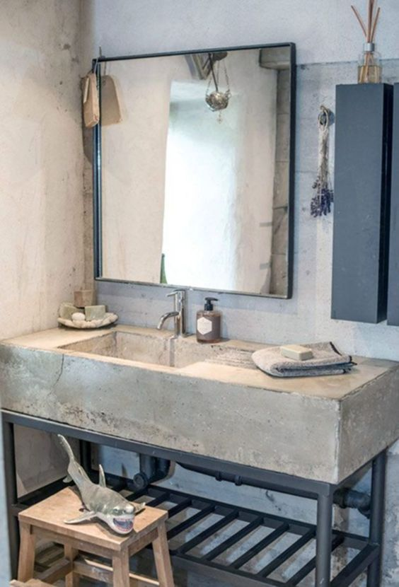 industrial bathroom ideas 9
