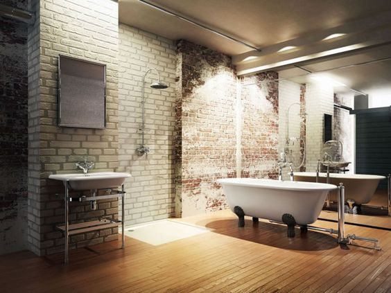 industrial bathroom ideas feature