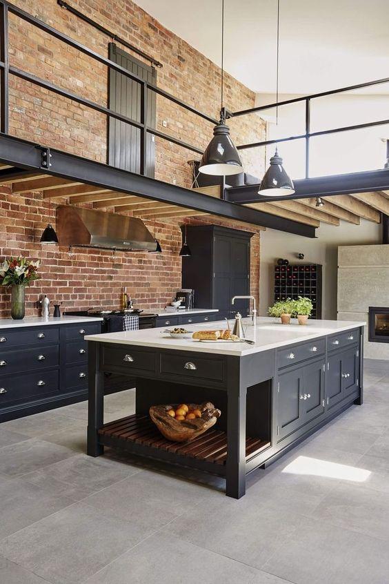industrial kitchen ideas 13