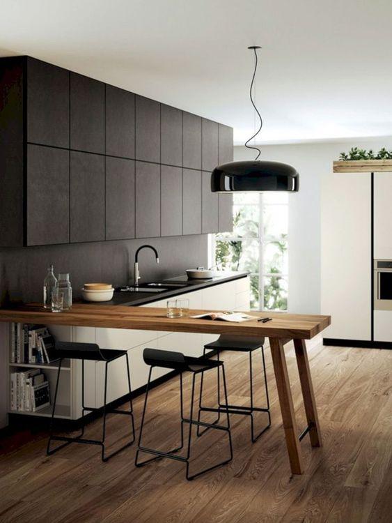 Kitchen Bar Ideas: Modern Earthy Bar